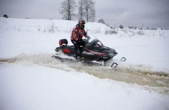 Снегоход ТАЙГА АТАКА II