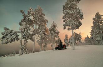 Снегоход TAYGA PATRUL 550 SWT