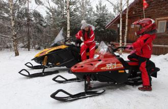 Снегоход TIKSY 2502