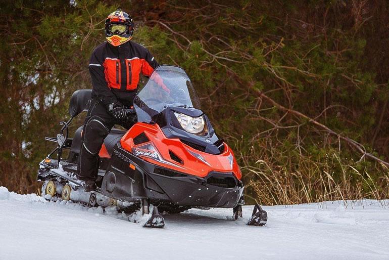 Рыбинские снегоходы пополнили парк гомельских спасателей