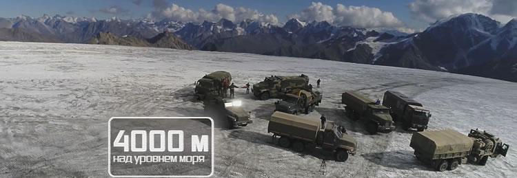 Экспедиция на Эльбрус / Техника взяла высоту 4000 метров