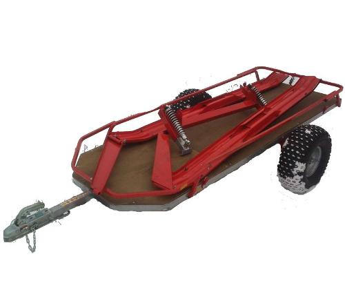 Прицеп-сани для квадроцикла/снегохода